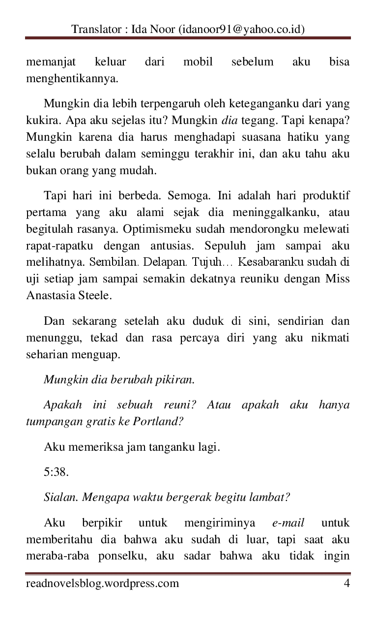 Shades pdf terjemahan indonesia darker fifty